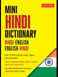 Mini Hindi Dictionary: Hindi-English / English-Hindi