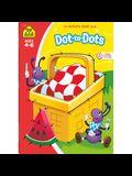 School Zone Dot-To-Dots Workbook