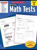 Math Tests, Grade 6