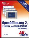 Openoffice.Org 2, Firefox and Thunderbird [With CDROM]