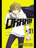Durarara!! Yellow Scarves Arc, Vol. 1 - manga