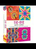 Tie-Dye Note Cards: 16 Different Blank Cards & Envelopes