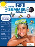 Daily Summer Activities: Moving from 7th Grade to 8th Grade, Grades 7-8