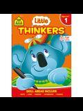School Zone Little Thinkers First Grade Workbook