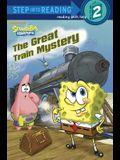 The Great Train Mystery (SpongeBob SquarePants) (Step into Reading)
