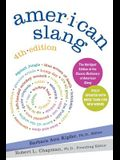 American Slang, 4th Edition