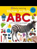 Sticker Activity: ABC [With Over 100 Stickers]