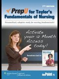 Prepu for Taylor's Fundamentals of Nursing Printed Access Code