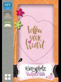 NIV Faithgirlz Backpack Bible, Compact, Imitation Leather