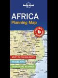 Lonely Planet Africa Planning Map
