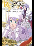 RE: Zero -Starting Life in Another World-, Chapter 3: Truth of Zero, Vol. 4 (Manga)