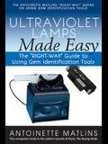 Ultraviolet Lamps Made Easy: The right-Way Guide to Using Gem Identification Tools