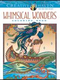 Creative Haven Whimsical Wonders Coloring Book