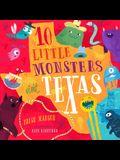 10 Little Monsters Visit Texas