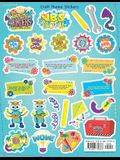 Workshop of Wonders Craft Theme Stickers 12pk