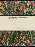 11 Bagatelles - A Score for Solo Piano Op.119