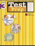 Test Prep: Grade 3 (Flash Kids Harcourt Family Learning)