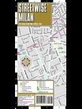 Streetwise Milan Map - Laminated City Center Street Map of Milan, Italy