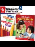 Conquering Fifth Grade Together: 2-Book Set