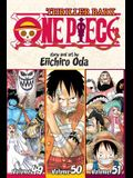 One Piece (Omnibus Edition), Vol. 17, Volume 17: Includes Vols. 49, 50 & 51