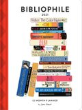 Bibliophile 2021 12-Month Planner: (weekly Agenda of Miscellany for Book Lovers, Yearly Calendar for Writers)