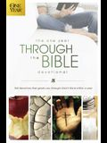 The One Year Through the Bible Devotional: 365 Devotions That Guide You Through God's Word Within a Year