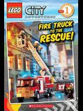 Lego City: Fire Truck to the Rescue (Level 1): Fire Truck to the Rescue!