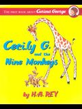 Curious George Cecily G and 9 Monkeys CL