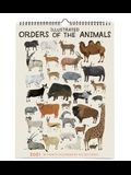 2021 Illustrated Orders of the Animals