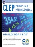 CLEP(R) Principles of Macroeconomics Book + Online