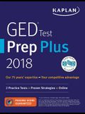 GED Test Prep Plus 2018: 2 Practice Tests + Proven Strategies + Online