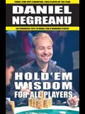 Hold'em Wisdom for All Players: Simple and Easy Strategies to Win Money