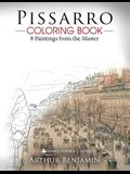 Pissarro Coloring Book: 8 Paintings from the Master