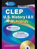 CLEP(R) U.S. History I & II Flashcards W/CD [With CDROM]