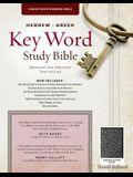 The Hebrew-Greek Key Word Study Bible: CSB Edition, Black Genuine Indexed