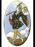Universal Tarot the Fool Magnet