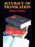 Accuracy of Translation