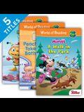 World of Reading Level Pre-1 Set 3 (Set)