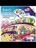 Magnetic Travel Fun: 20 Magnetic Board Games [With Metal Game Board and Magnetic Game Pieces]