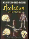Glow-In-The-Dark Skeleton Stickers
