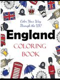 England Coloring Book: Color Your Way Through the UK!