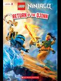 Return of the Djinn (LEGO Ninjago: Reader)
