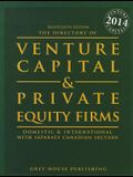 The Directory of Venture Capital & Private Equity Firms, 2014: Print Purchase Includes 1 Year Free Online Access