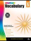 Spectrum Vocabulary, Grade 5