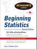 Schaum's Outline of Beginning Statistics