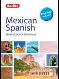 Berlitz Phrase Book & Dictionary Mexican Spanish(bilingual Dictionary)
