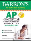 AP Comparative Government and Politics: With 3 Practice Tests