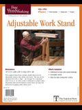 Fine Woodworking's Adjustable Work Stand Plan