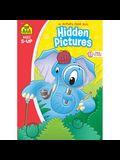 School Zone Hidden Pictures 96-Page Workbook