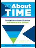 It's about Time [elementary]: Planning Interventions and Exrensions in Elementary School